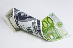 Dollar - Euro Royalty Free Stock Photo