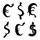 Dollar and Euro Stock Photos