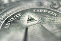Dollar eye Royalty Free Stock Image