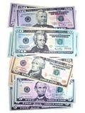 dollar för 01 bills Arkivfoto