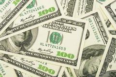 Dollar för en radda royaltyfri bild