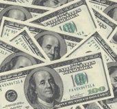Dollar för en radda Arkivfoto