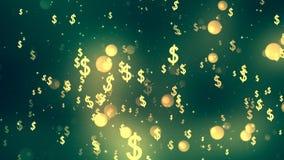 Dollar Fall stock footage