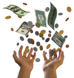 dollar falla Fotografering för Bildbyråer