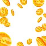 Dollar Falling Explosion Vector. Flat, Cartoon Gold Coins Illustration. Finance Coin Design. Currency Isolated. Dollar Falling Explosion Vector. Flat, Cartoon Stock Photo