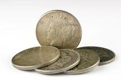 dollar fem royaltyfri foto