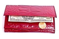 dollar femtio en Royaltyfri Bild