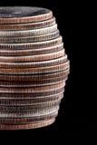 dollar fjärdedel oss Fotografering för Bildbyråer