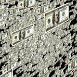 Dollar Flow Royalty Free Stock Image