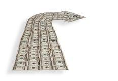 Dollar  flow Stock Photo
