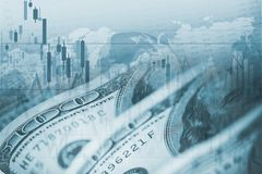 Dollar Forex Currency Exchange Royalty Free Stock Images