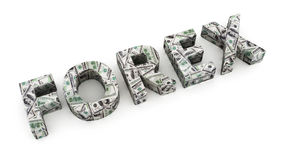 Dollar Forex Royalty Free Stock Images
