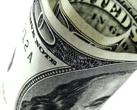 dollar för 100 bill Royaltyfria Bilder