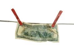 dollar för 100 bill Arkivfoto
