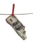 dollar för 100 bill Royaltyfri Fotografi
