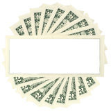 Dollar frame Stock Photo