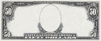 Dollar Frame Royalty Free Stock Photos