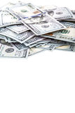 Dollar frame Stock Image