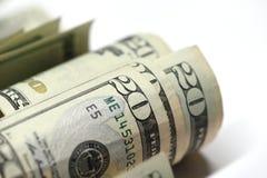 20 Dollar Geld lizenzfreie stockfotos