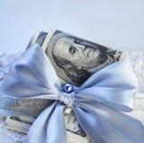 Dollar Geschenk Lizenzfreie Stockbilder