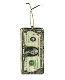 Dollar Gift Tag Stock Images