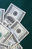 dollar green Fotografering för Bildbyråer