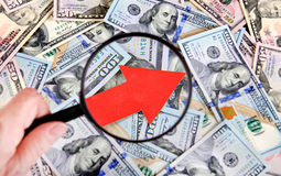 Dollar Grow Concept Royalty Free Stock Photos