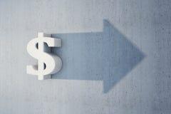 Dollar is grow Stock Photos