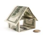 Dollar-Haus stockfotografie