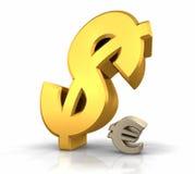 Dollar-Herrschaft vektor abbildung