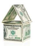 Dollar - het huis Stock Afbeelding