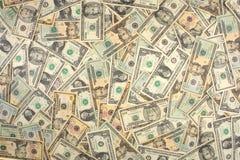 Dollar-Hintergrund Lizenzfreies Stockfoto