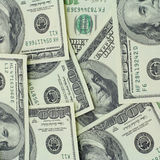 Dollar Hintergrund Stockfotos
