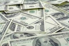 Dollar Hintergrund Lizenzfreie Stockfotos