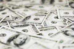 Dollar Hintergrund- Stockfotografie