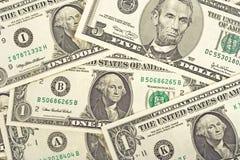 Dollar Hintergrund- Lizenzfreies Stockbild