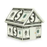 Dollar Home Royalty Free Stock Photo