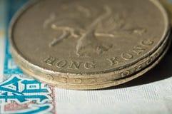 dollar Hong Kong Arkivfoto