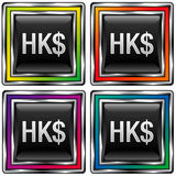 dollar Hong Kong Photographie stock libre de droits