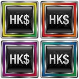 dollar Hong Kong stock illustrationer