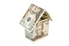 Dollar house Stock Photos