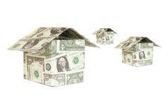 Dollar house Stock Photo
