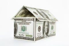 dollar house format Royaltyfri Fotografi
