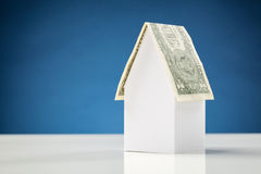 Dollar House - Mortgage or Loan Concept Stock Photography