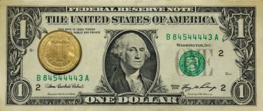 Dollar hryvnia Stock Images