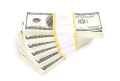 dollar hundra Royaltyfria Bilder