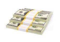 dollar hundra Royaltyfri Fotografi