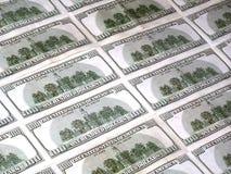 dollar hundra Arkivbild