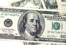 dollar hundra en Royaltyfri Foto