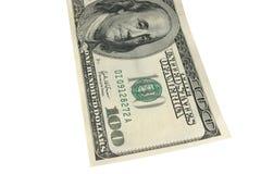 dollar hundra en Royaltyfri Bild